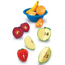 Smart Snacks 16 Piece Counting Fruit Bowl Set