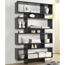 Baxton Studio Cassidy 70 Accent Shelves Bookcase by Wholesale Interiors