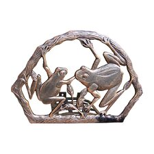 Frogs Aluminum Wall Mounted Hose Holder