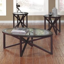 Sleffine 3 Piece Coffee Table Set by Signature Design by Ashley