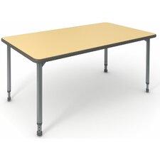"A&D 60"" x 30"" Rectangular Activity Table"