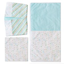 Follow Your Arrow 3 Piece Crib Bedding Set