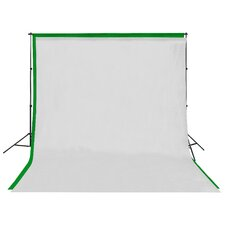 Background stand with Screen Muslin Backdrop