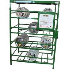 70 H Four Shelf Shelving Unit by Saf-T-Cart