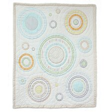 Cosmo Dots All Cotton Baby Quilt