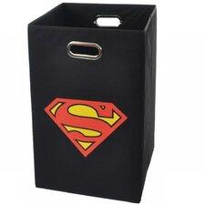 Superman Logo Folding Laundry Hamper by Modern Littles