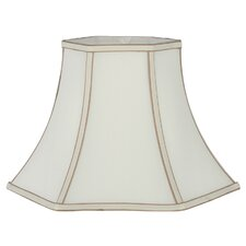 Slubby Faux Silk Bell Lamp Shade