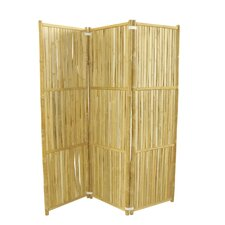 68.9 H x 59.1 W 3 Panel Room Divider by ZEW Inc