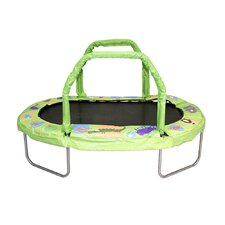 Mini Oval Trampoline with Pad