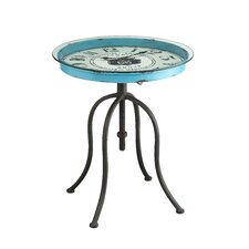 Mailiah Clock End Table by Williston Forge