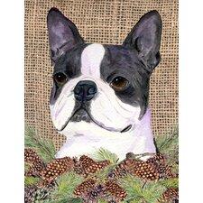 Boston Terrier 2 Sided Garden Flag By Carolineu0027s Treasures