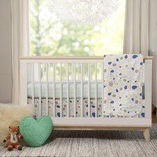 Fleeting Flora 4 Piece Crib Bedding Set