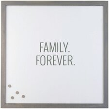 Family Forever Magnetic Memo Board