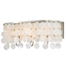 Elsa Capiz Shell 3-Light Vanity Light