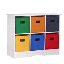RiverRidge Kids 6 Compartment Cubby by RiverRidge Kids