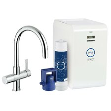 Single Handle High Spout Water System Sink Faucet by Grohe
