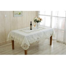 Heritage Embroidered Oblong / Rectangle Tablecloth
