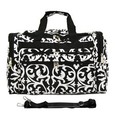 "Damask 19"" Shoulder Duffel"