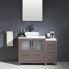 Torino 42 Single Modern Bathroom Vanity Set with Mirror by Fresca