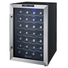 28 Bottle Cascina Series Single Zone Freestanding Wine Cooler