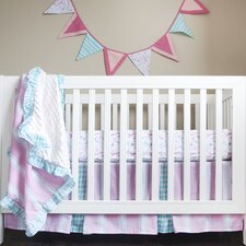 Posh in Paris Simply Posh 4 Piece Crib Bedding Set by Pam Grace Creations