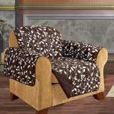 Leaf Chair Furniture Protector Microfiber Armchair Slipcover  by ELEGANT COMFORT