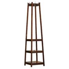 Crannell 3 Tier Tower Shoe Coat Rack