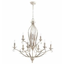 Flora 9-Light Candle-Style Chandelier
