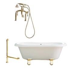 Portsmouth 60 x 31 Dual Soaking Bathtub by Giagni