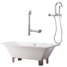 Tella Contemporary Soaking Bathtub by Giagni