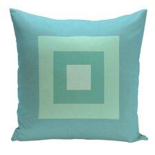Geometric Decorative Down Throw Pillow