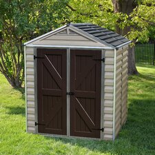 SkyLight™ 6 ft. W x 5 ft. D Plastic Storage Shed