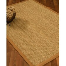 Maritime Handcrafted Honey Area Rug