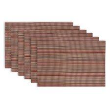 Tango Micro Stripe Placemat (Set of 6)