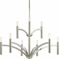 Draper 9-Light Candle-Style Chandelier