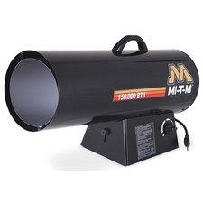 150,000 BTU Portable Propane Forced Air Utility Heater