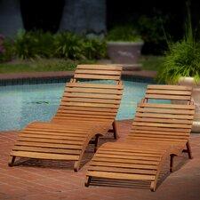 Sanchezia Chaise Lounge (Set of 2)