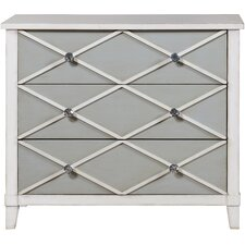 Marlee 3 Drawer Chest by House of Hampton