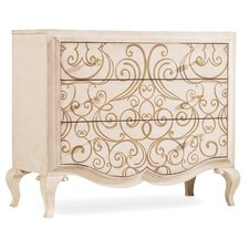 Melange Graciela Handpainted 3 Drawer Chest by Hooker Furniture