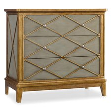Melange Paxton 3 Drawer Chest by Hooker Furniture