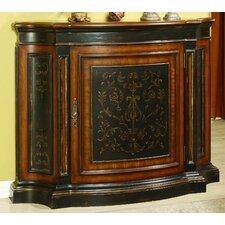 Vicenza Tall Waisted Shaped 1 Door Cabinet by Hooker Furniture