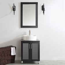 Tuscany 24 Single Vanity Set with Mirror by Vinnova