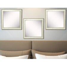 Ava Vintage Silver  Mirror (Set of 3)