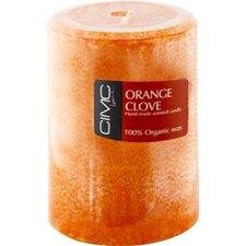 Orange Clove Pillar Candle