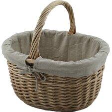 Oval Shopper Willow Basket