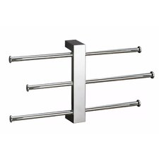 Bridge Sliding 3-Tier Wall Mounted Towel Rack
