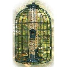 Squirrel Proof Caged Tube Bird Feeder