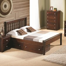 Contempo Full/Double Storage Platform Bed by Donco Kids Best Products ...