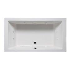Vivo 66 x 42 Drop in Whirlpool Bathtub by Americh