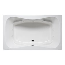 Rampart II 60 x 42 Drop in Whirlpool Bathtub by Americh